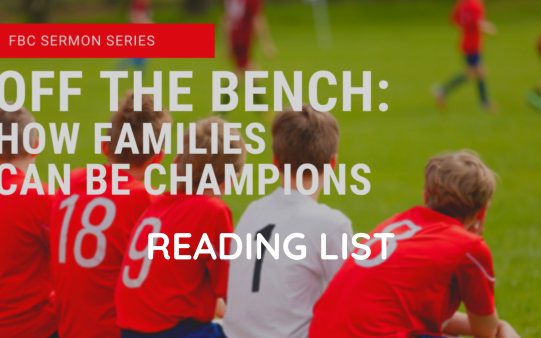 Reading List – Off the Bench Series